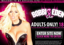 Holland's most famous pornstar, Bobbi Eden