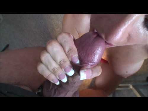 BIG TITTED NORWAY BABE VICKY VETTE HOT NAILJOB & CUMSHOT from vicky at home